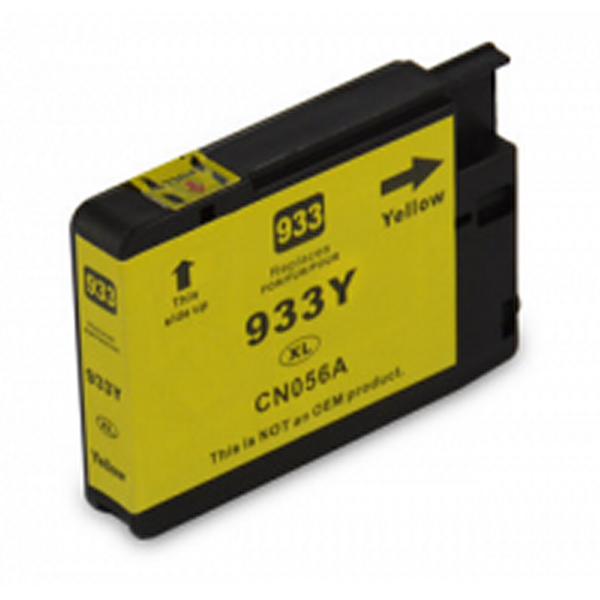 HP 933XL amarillo | Cartucho de tinta compatible CN056AE