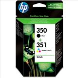 HP 350/351 Pack (x2) Original