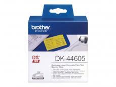 BROTHER CINTA CONTINUA AMARILLO PAPEL REMOVIBLE 62MM 30.48M