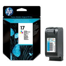 HP 17 tricolor | Cartucho de tinta original C6625A