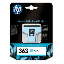 HP 363 cyan light | Cartucho de tinta original C8774EE