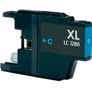 Brother LC1280XL Cian Compatible